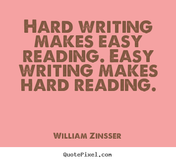 Writing-easy-hard