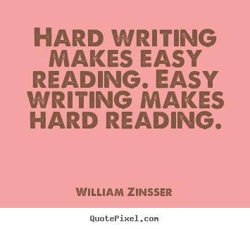 Writing-easy-hard